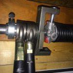 E-Z RATCH Torsion Spring Tightener installing gear adapter